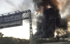 ΝΕΑ ΕΙΔΗΣΕΙΣ (Μεγάλη φωτιά σε εργοστασιακό χώρο στη Μεταμόρφωση)