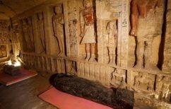 ΝΕΑ ΕΙΔΗΣΕΙΣ (Αίγυπτος: Στο φως 59 σαρκοφάγοι στη Νεκρόπολη της Σακκάρα)