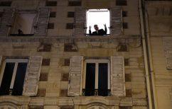 ΝΕΑ ΕΙΔΗΣΕΙΣ (Τενόρος τραγουδάει από το παράθυρό του στο Παρίσι κατά το δεύτερο lockdown)