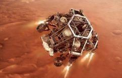 """ΝΕΑ ΕΙΔΗΣΕΙΣ (Ιστορική στιγμή: προσεδαφίστηκε στον Άρη το """"Perseverance"""")"""