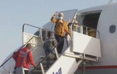 ΝΕΑ ΕΙΔΗΣΕΙΣ (Δεύτερη πτήση με 122 πρόσφυγες από τη Λήμνο στο Αννόβερο)