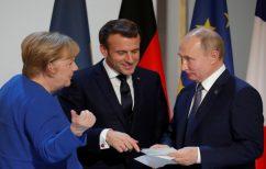ΝΕΑ ΕΙΔΗΣΕΙΣ (Πούτιν, Μέρκελ και Μακρόν άφησαν ανοιχτό το ενδεχόμενο να χρησιμοποιηθεί στην Ε.Ε. το Sputnik V)