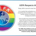 ΝΕΑ ΕΙΔΗΣΕΙΣ (Στα χρώματα της ΛΟΑΤΚΙ κοινότητας η UEFA)