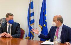 ΝΕΑ ΕΙΔΗΣΕΙΣ (Συνάντηση Κωστή Χατζηδάκη με τον Εκτελεστικό Διευθυντή της Ευρωπαϊκής Αρχής Εργασίας, Cosmin Boiangiu)