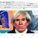 ΝΕΑ ΕΙΔΗΣΕΙΣ (Έκθεση με ανέκδοτες φωτογραφίες του Andy Warhol στο Λος Άντζελες)